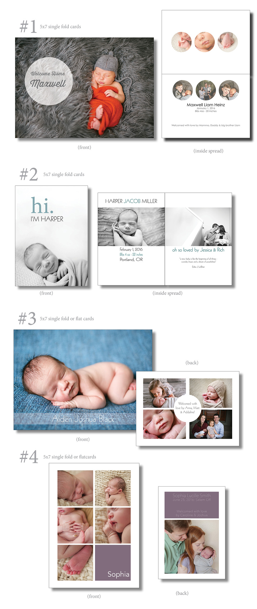 BABYcards for blog